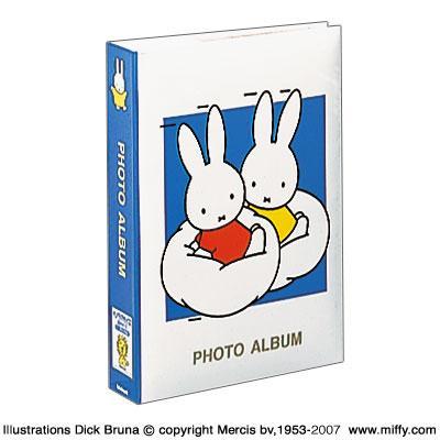 アルバム ナカバヤシ ディック ブルーナシリーズ ブルー 1PL-158-B ミッフィー 価格交渉OK送料無料 1PLポケットアルバム デポー