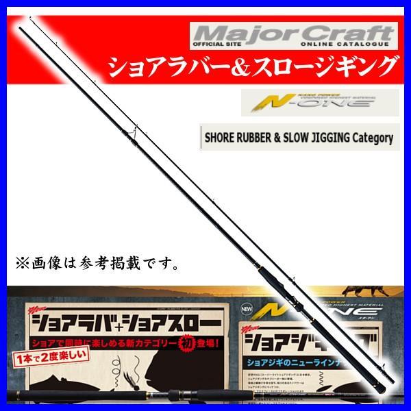メジャークラフト  エヌワン  ショアラバー & スロージギングカテゴリー  NSS-862L/SRJ   ロッド   ソルト *6