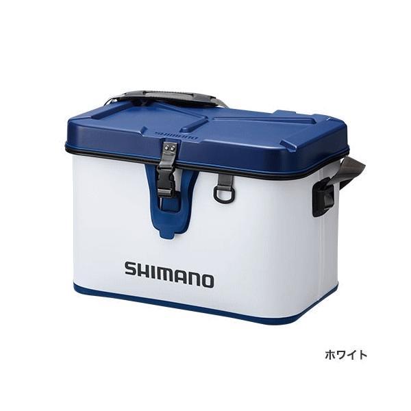 ≪'17年3月新商品!≫ シマノ タックルボートバッグ(ハードタイプ) BK-001Q ホワイト 32L