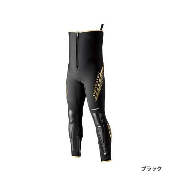 ≪'19年3月新商品!≫ シマノ タイツリミテッドプロ FI-011S ブラック MAサイズ