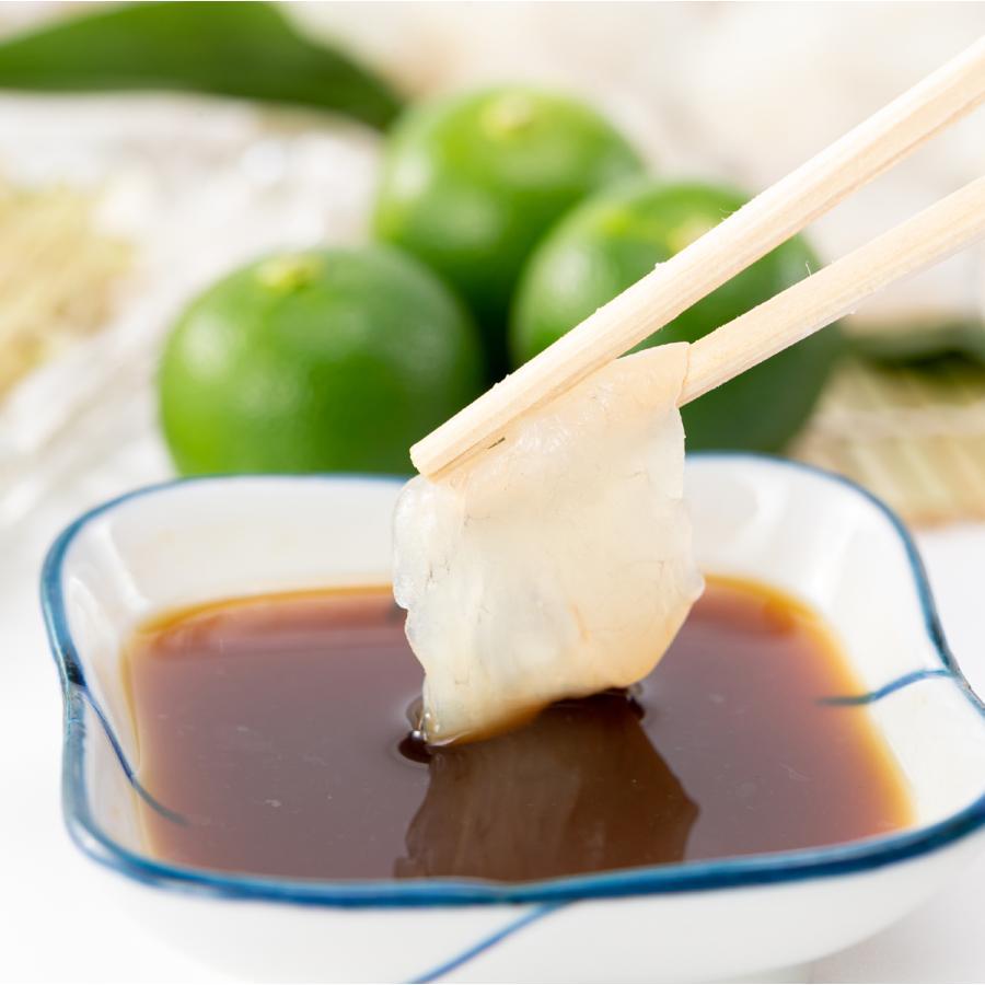 ふぐ生ポン酢 白 「琥珀」 黒 「滋味」 2本セット 手作り 無添加 ギフト お取り寄せ グルメ ポン酢 冷蔵 すだち ゆこう|fugumaru|09