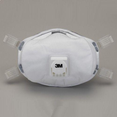 【送料無料】使い捨て式防じんマスク 排気弁付き 8233-DS3 5枚入【お取り寄せ】【郵便NG】