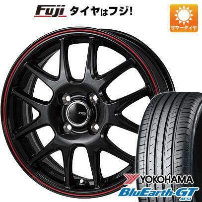 185/60R15 15インチ MONZA JPスタイル ジェファ 5.5J 5.50-15 YOKOHAMA ブルーアース GT AE51 サマータイヤ ホイール4本セット