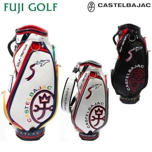 完全数量限定 ゴルフ キャディバッグ CASTELBAJAC カステルバジャック ワールドゴルフ柄 キャディバッグ CBC021 メンズ キャディバッグ 2019年モデル
