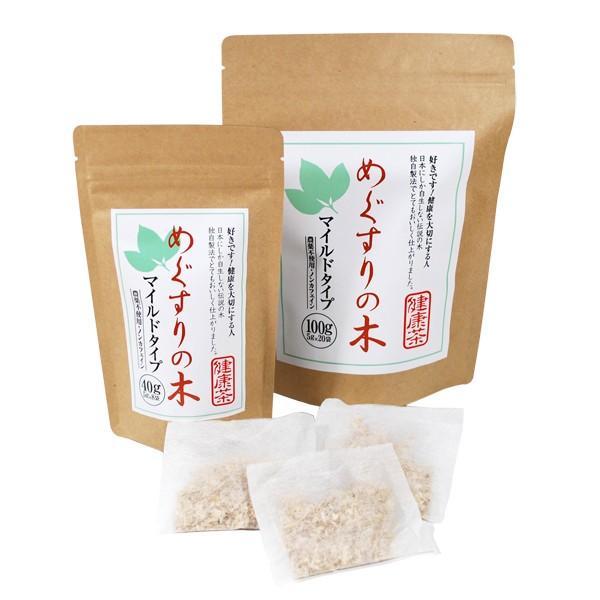 メグスリノキ茶 健康茶マイルドタイプ100g|fujigreen|02