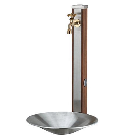 水栓柱·立水栓 スタンド+ポットセット  ·スプレスタンド70 (蛇口1個)  ·シャインポット un