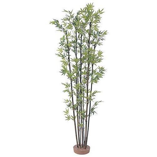 タカショー グリーンデコ 和風黒竹7本立 鉢無(人工植物/観葉植物) 1.5m (GD-50S)