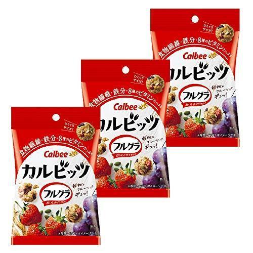 カルビー カルビッツフルグラ 26g ×3袋|fujiki-mall