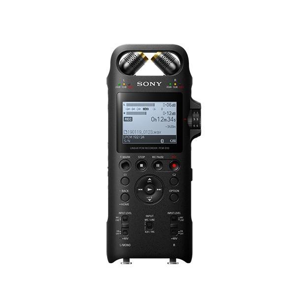 メーカー1年保証 SONY リニアPCMレコーダー PCM-D10 ハイレゾ対応 XLR/TRS入力端子搭載