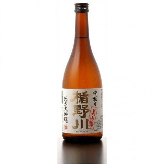 楯野川酒造 純米大吟醸 美山錦 中取り 720ml ※6本まで1個口で発送可能|fujimatsu-store