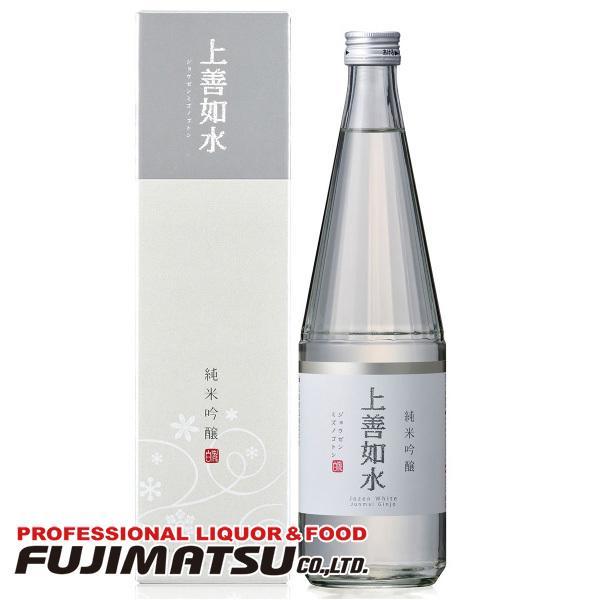 白瀧酒造 上善如水 純米吟醸 720ml ※12本まで1個口で発送可能 fujimatsu-store