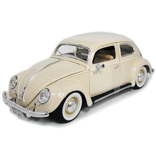 1955 Volkswagen Beetle KAFER cream 1/18 BBURAGO 7778円