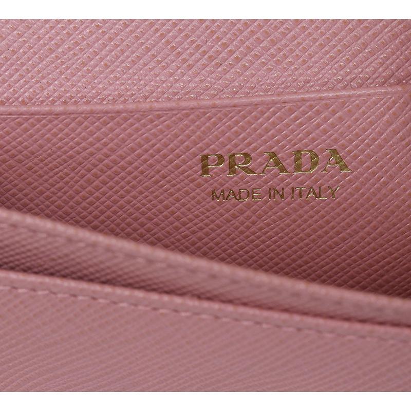 PRADA プラダ カードケース 名刺入 ピンク リボン 1MC122 2AEE (質屋 藤千商店)|fujisen78|08