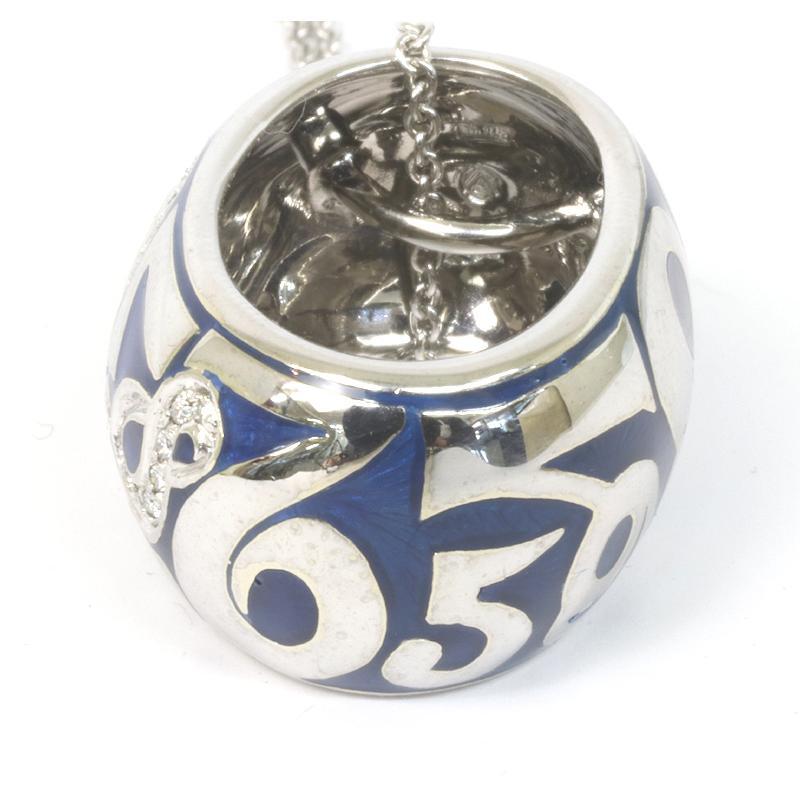 フランクミュラー タリスマン ダイヤモンド ネックレス K18ホワイトゴールド (質屋藤千商店)|fujisen78|03