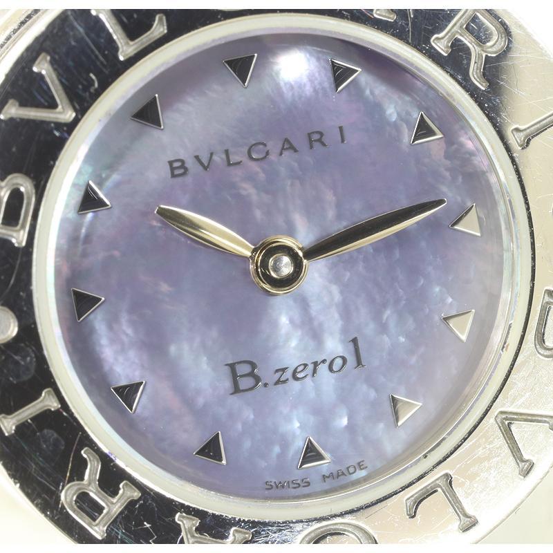 BVLGARI ブルガリ B-zero1 ビーゼロワン シェル レディース クオーツ ウォッチ BB22S   (質屋 藤千商店)|fujisen78|02
