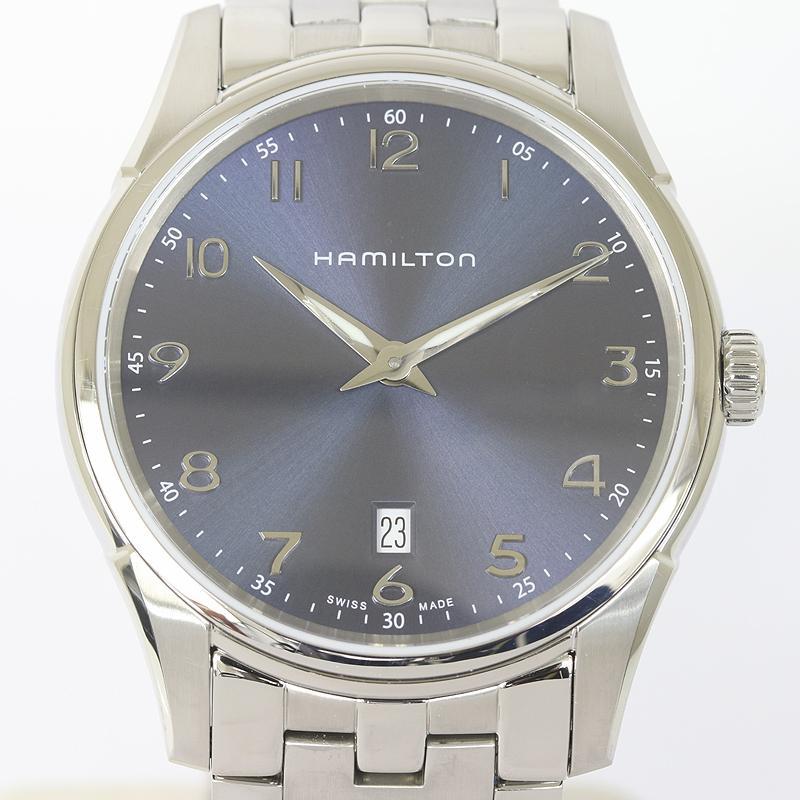 HAMILTON ハミルトン ジャズマスター シンライン H38511143 メンズ クオーツ  (質屋 藤千商店)|fujisen78
