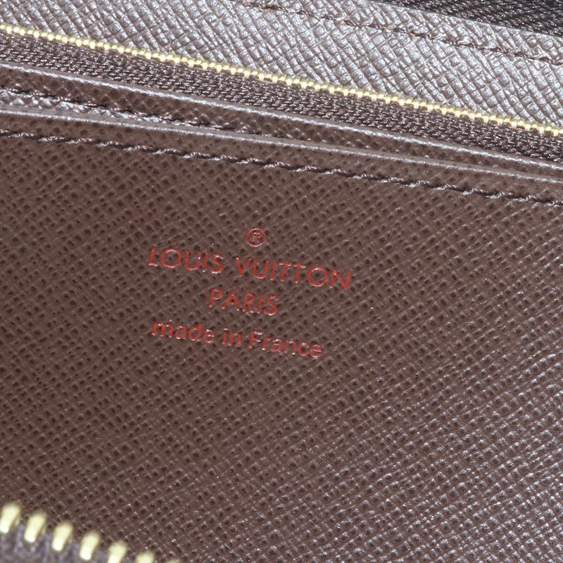 未使用品! ルイヴィトン ダミエ N41661 ジッピーウォレット ラウンドファスナー 長財布 (質屋藤千商店)|fujisen78|08