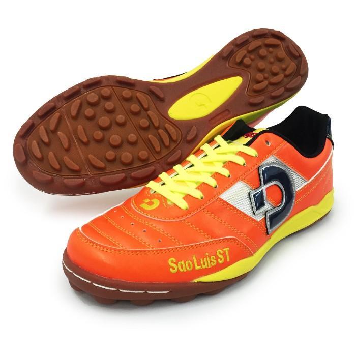 サンルイス ST / SaoLuis ST(DS846-OR-NVY-L)デスポルチ トレーニングシューズ オレンジ×ネイビー×ライム【デスポルチ/Desporte】