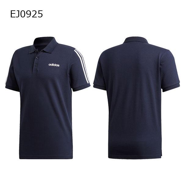 アディダス adidas メンズ ESSENTIALS 3ストライプス ポロシャツ GHQ38 メール便対応可|fujisports|02