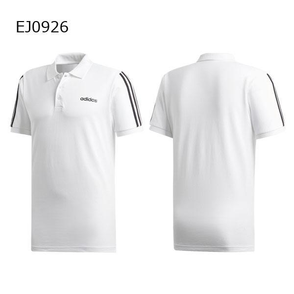 アディダス adidas メンズ ESSENTIALS 3ストライプス ポロシャツ GHQ38 メール便対応可|fujisports|03