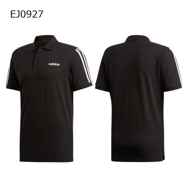 アディダス adidas メンズ ESSENTIALS 3ストライプス ポロシャツ GHQ38 メール便対応可|fujisports|04