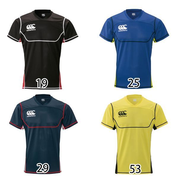 カンタベリー ラグビー トレーニングウエア 好評 プラクティス 有名な Tシャツ RG39504 メール便対可