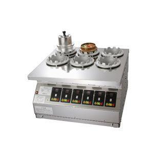 マイコン式 全自動釜めし炊飯機 タイテックス TDMWS- 6型 (6ケ炊) DKM-16