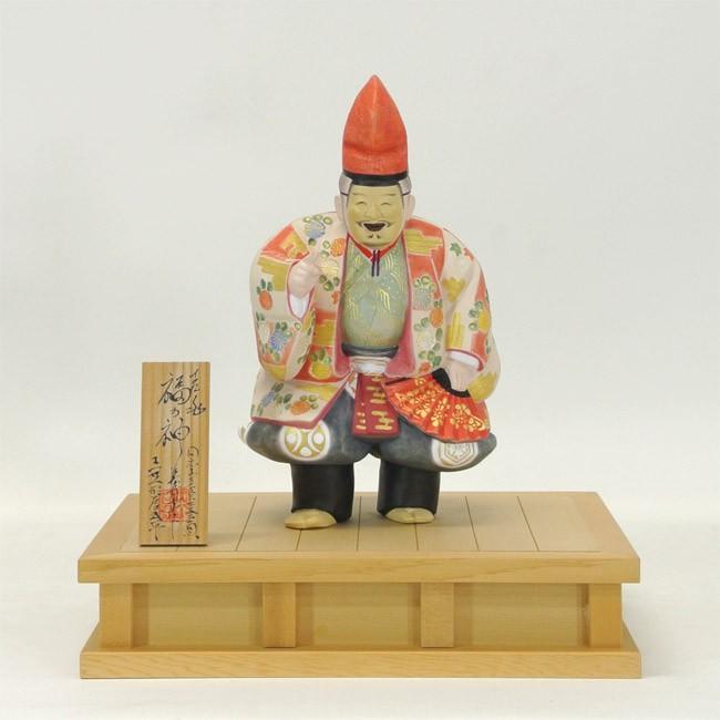 博多人形 吉兆福の神 英章作