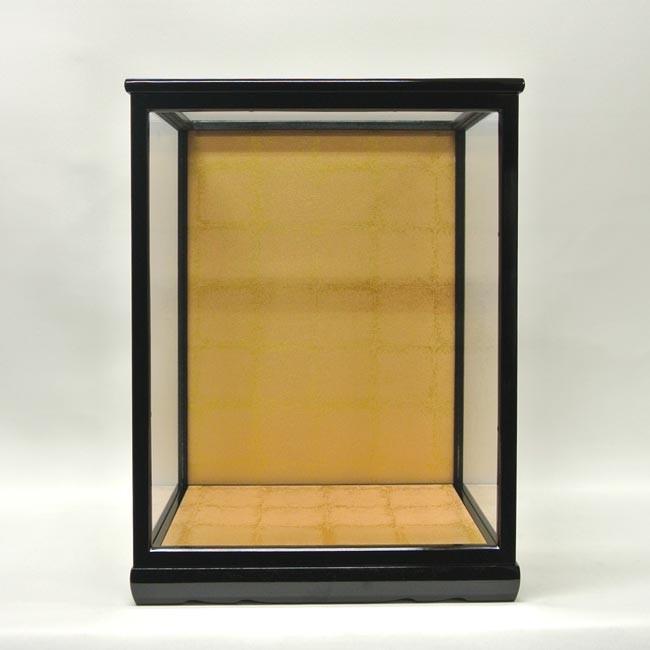 前扉式 木製 人形ケース ガラスケース 『30-13』 (幅30cm×奥行26cm×高さ40cm)