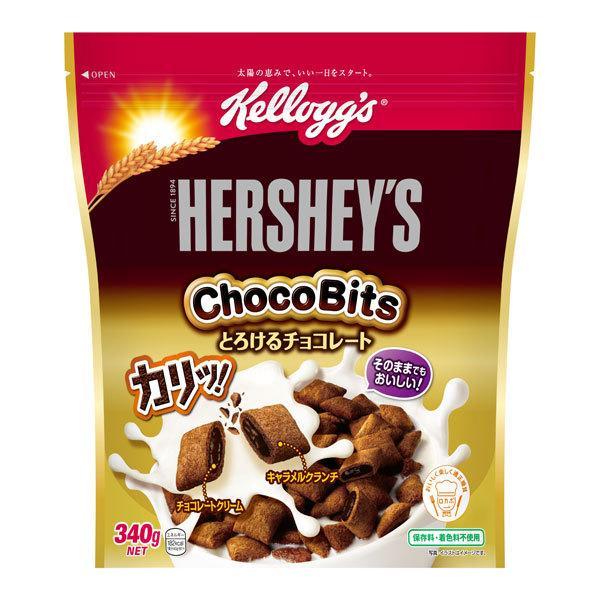 ☆最安値に挑戦 ケロッグ ハーシーチョコビッツとろけるチョコレート 340g×6個入り×2箱 日本正規代理店品 KT 計12個