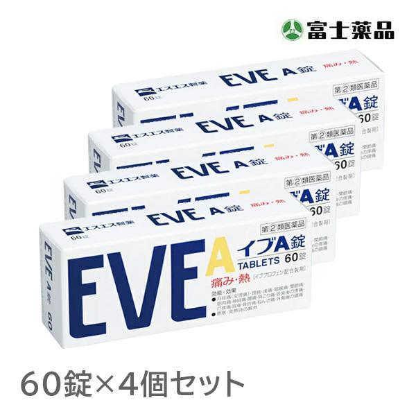 第 2 SALENEW大人気! 類医薬品 新発売 4個セット 60錠 イブA錠