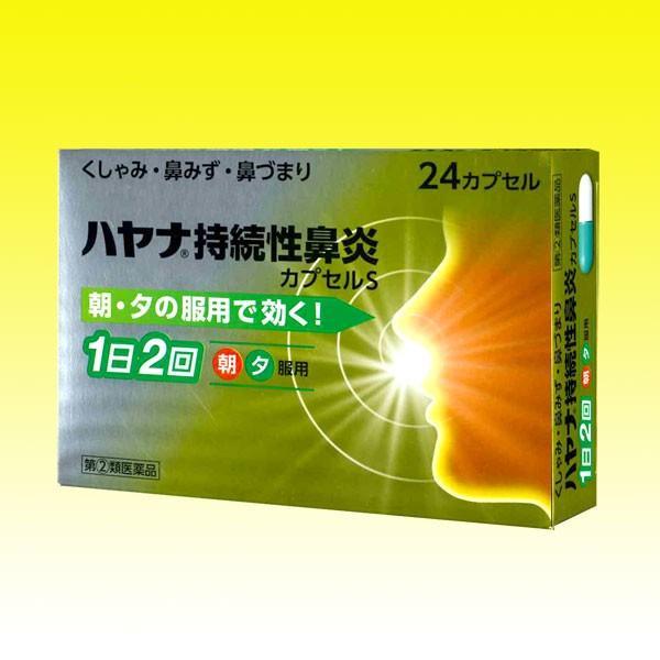 ハヤナ持続性鼻炎カプセルS 24カプセル 第 2 本店 類医薬品 信頼