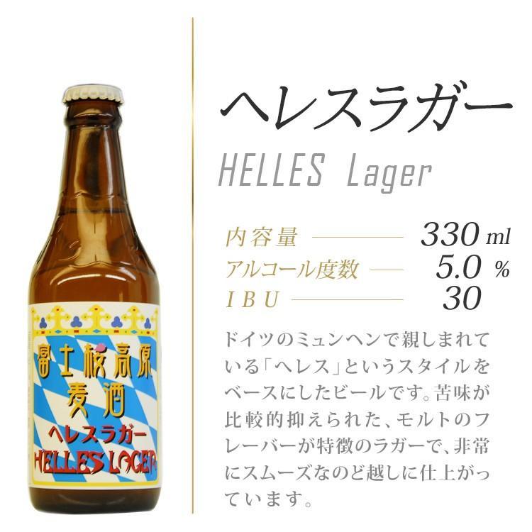 富士桜高原麦酒「ヘレスラガー4本セット」【地ビール】 fujizakurabeer 02