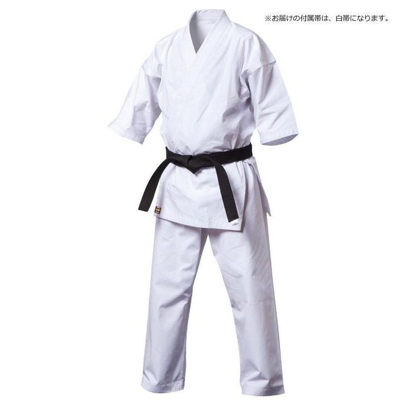 (同梱・代引不可)上製純白フルコンタクト空手着 00号 白帯付 KU8-00