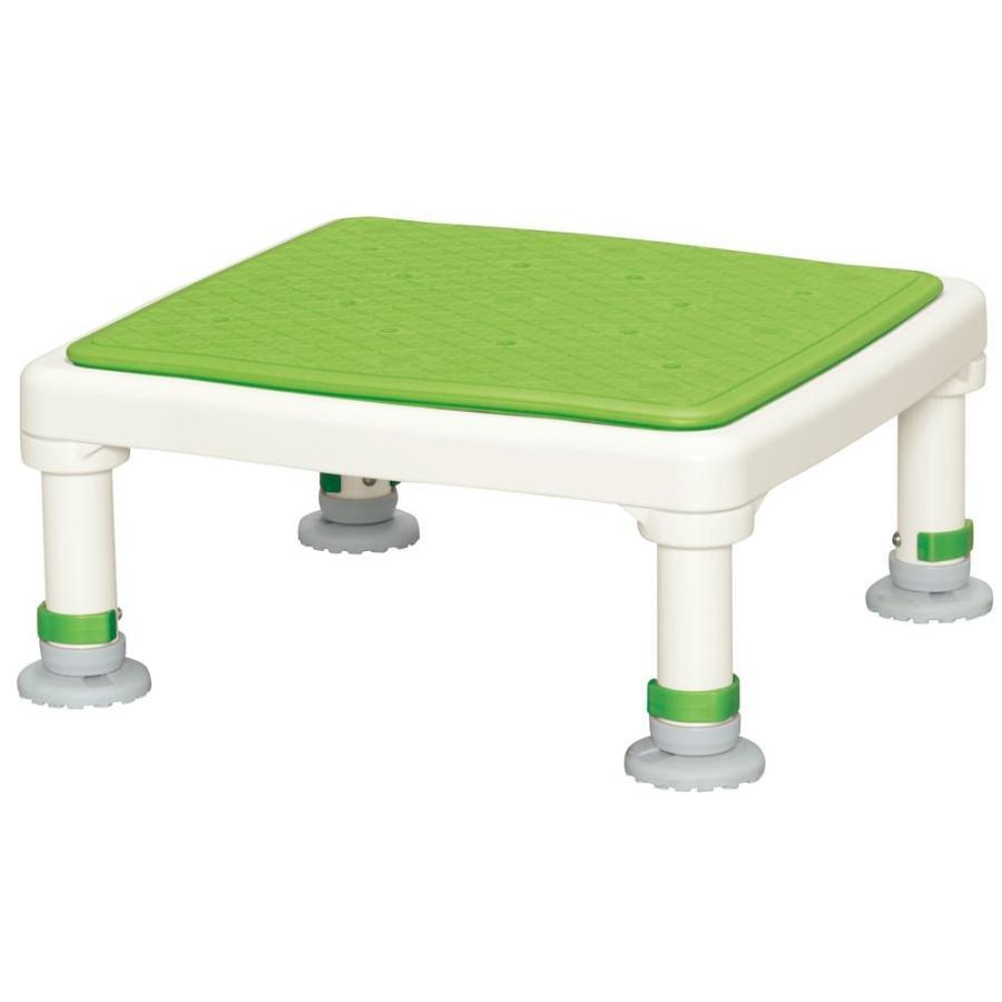 配送員設置 15-25 グリーン ジャストソフト アルミ製浴槽台 あしぴたシリーズ-介護用品