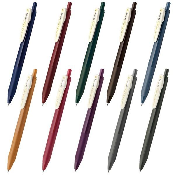 ゼブラ サラサクリップ ビンテージカラー 0.5 JJ15-V 10色 単品|fukido-store