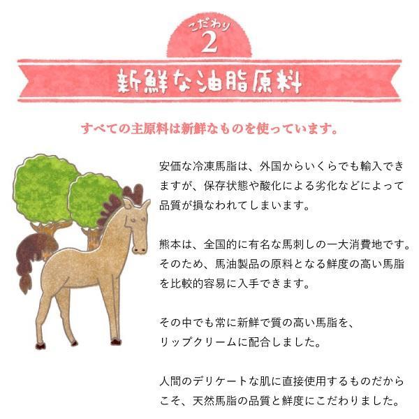 お試し 送料無料 馬柚(馬油) リップクリーム 乾燥対策 天然アロマ 桜島小みかん|fukuda-farm|12