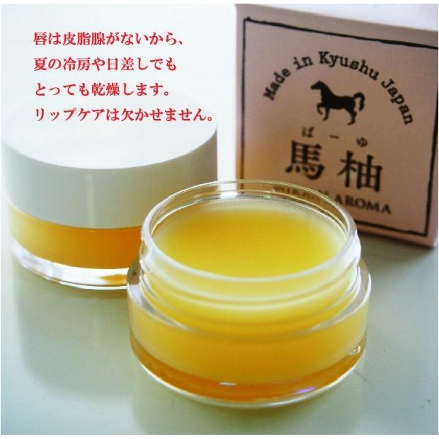 お試し 送料無料 馬柚(馬油) リップクリーム 乾燥対策 天然アロマ 桜島小みかん|fukuda-farm|16
