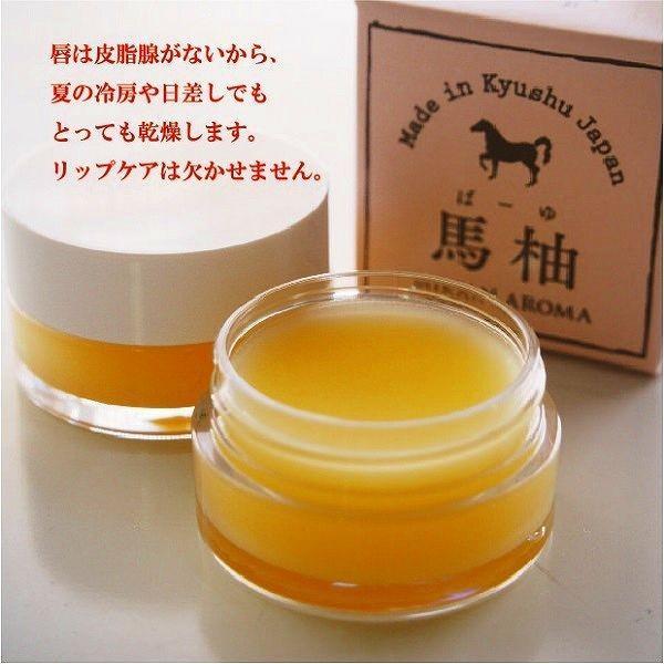 お試し 送料無料 馬柚(馬油) リップクリーム 乾燥対策 天然アロマ 桜島小みかん|fukuda-farm|03