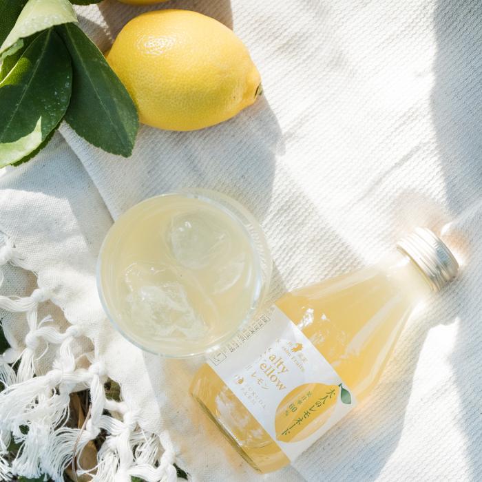 大人のレモネード ノンアルコール カクテル 180ml 8本セット ギフト レモン ジュース 砂糖不使用 fukuda-farm 03