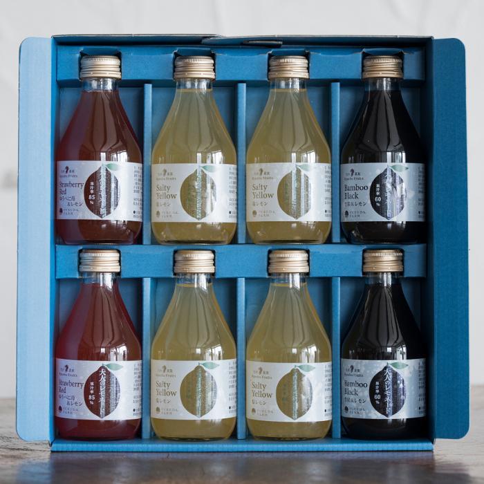 大人のレモネード ノンアルコール カクテル 180ml 8本セット ギフト レモン ジュース 砂糖不使用 fukuda-farm 06