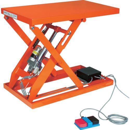 TRUSCO テーブルリフト500kg(電動Bねじ100V)800×1200mm  HDL-L50812V-12 464-3712