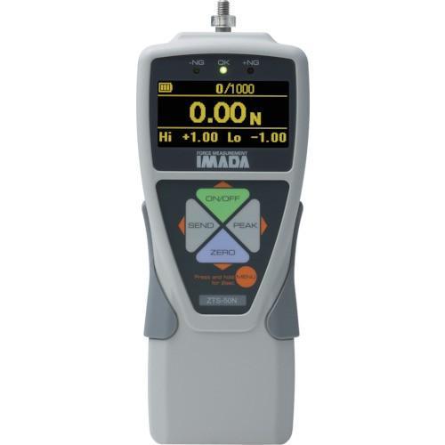 イマダ  標準型デジタルフォースゲージ 使用最大荷重5000N  ZTS-5000N 856-9037