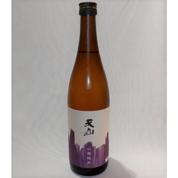 天山 山廃純米 720ml 天山酒造 fukudasaketen 02