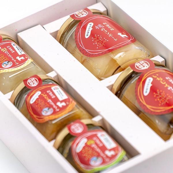 小さな福箱 朝採り果物のコンポートとコンフィチュールの5点セット 送料無料 阿部農縁  ふくしまプライド。体感キャンペーン(その他)|fukufukugenki|02