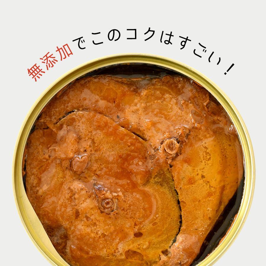 鯖缶 味付醤油仕立て 無添加 3缶 缶詰 高級 サバ缶 非常食 ノルウェー産 福井缶詰|fukuican|06