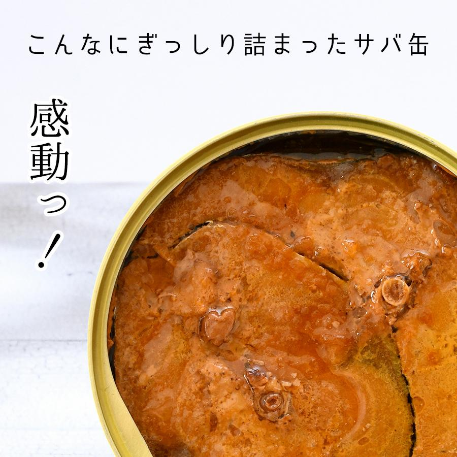 鯖缶 味付醤油仕立て 無添加 24缶 缶詰 高級 サバ缶 非常食 ノルウェー産 福井缶詰 fukuican 04