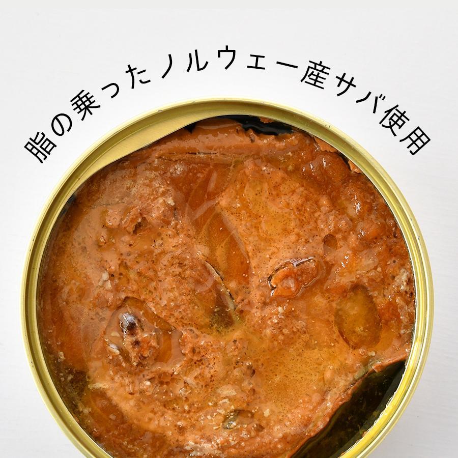 鯖缶 味付醤油仕立て 12缶 缶詰 高級 サバ缶 非常食 おすすめ リピート続出 ノルウェー産 福井缶詰 fukuican 06