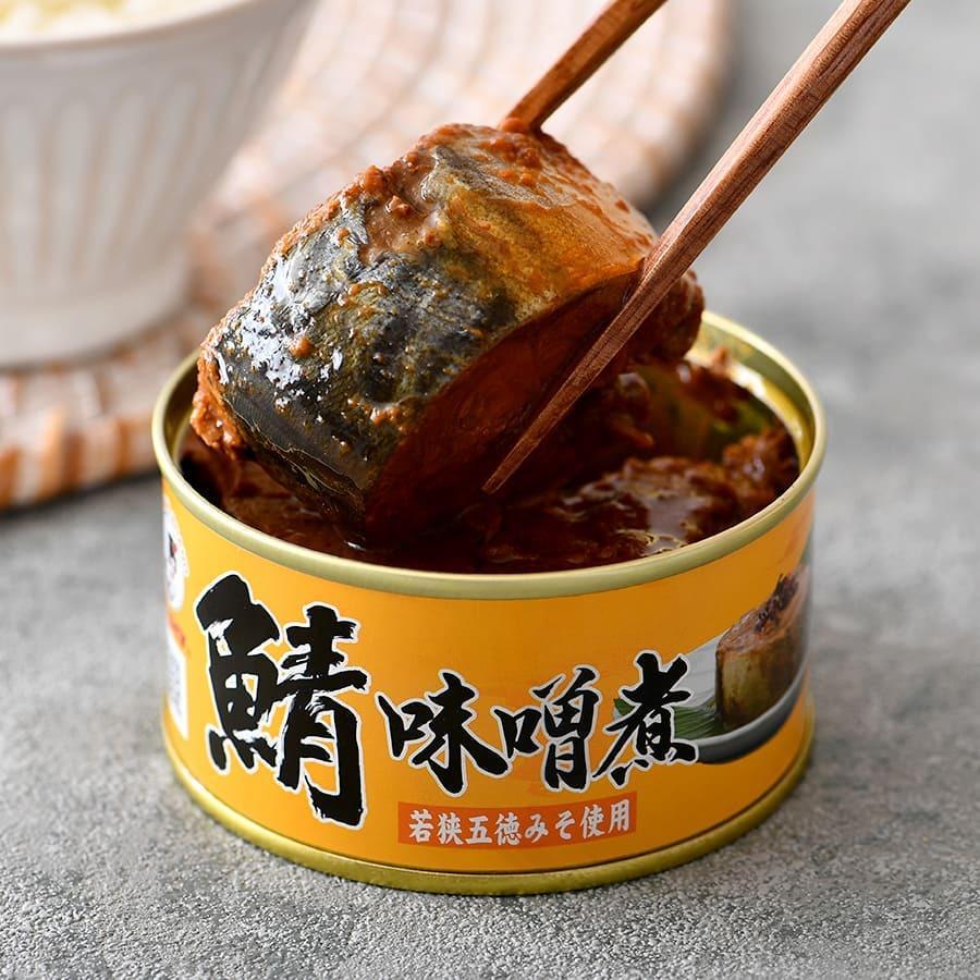 鯖缶 味噌煮 6缶 缶詰 高級 サバ缶 非常食 ノルウェー産 福井缶詰|fukuican|03