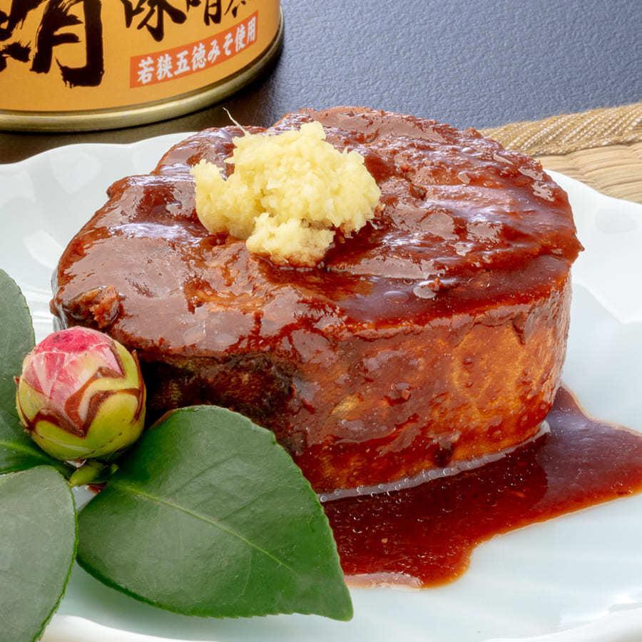 鯖缶 味噌煮 6缶 缶詰 高級 サバ缶 非常食 ノルウェー産 福井缶詰|fukuican|07